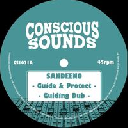 "Conscious Sounds - Uk Sandeeno - Mystical Steppa Guide And Protect - Guiding Dub - Sabbath - Tech Dub X Uk Dub 10"" rv-10p-01605"