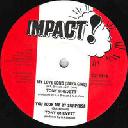 "impact - Us Tony Brevett - Philip Fraser My Love Song - Lonely Reggae Java Oldies Classic 10"" rv-10p-01707"
