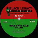 "Black Legacy - Uk John Junior - Keety Roots Rude Bwoy Face - Rude Bwoy Dub - Dub 2 X Uk Dub 10"" rv-10p-01709"