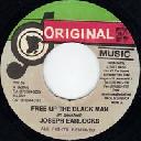 "Original Music - Ja Joseph Earlocks Free Up The Black Man - Version Free Up The Black Man Oldies Classic 7"" rv-7p-06270"