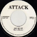 "Attack - Uk Barry Brown Step it Up - Version Step it Up Oldies Classic 7"" rv-7p-09774"