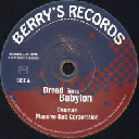"Berrys - Fr Danman - Massive Dub Corporation Dread inna Babylon - Dub inna Babylon X Uk Dub 7"" rv-7p-13941"