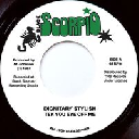 "Black Scorpio - Top Ranking Sound - Au Dignitary Stylish Tek Eye Of Me - Version X Early Digital 7"" rv-7p-15335"