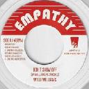 "Empathy - A Lone - Eu Willi Williams - Lone Ark Riddim Force Dont Show Off - Messsenger Dub X Reggae Hit 7"" rv-7p-15378"