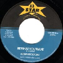"12 Star - Roots Traders - Uk Keeling Beckford Be What You Want - Version Give A Helping Hand Oldies Classic 7"" rv-7p-15533"