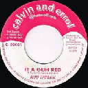 "Calvin And Errol - Uk Rod Taylor it A Guh Red - Version Higher Heights Reggae Hit 7"" rv-7p-15636"