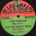 """Black Legacy - Uk Keety Roots - Rootsy Rebel Reparations - Up You Mighty Race - Dubarations - Part 2 Reparations Uk Dub 10"""" rv-10p-01303"""